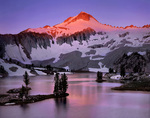Glacier Peak from Glacier Lake