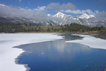 Wallowa Lake thawing on May 1