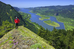 Trail to Munra Point above the Columbia River