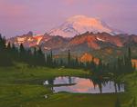 Mt. Rainier from Tipsoo Lake