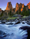 Crooked River Rapids in Smith Rock State Park