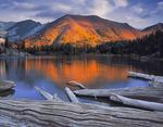 Sunrise at Ice Lake