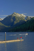 Fishing and boating at Wallowa Lake