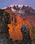 Mt. Adams from the Ridge of Wonders