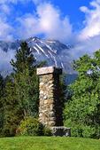 Old Chief Joseph's Monument below Chief Joseph Mountain
