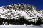 Ski trail across Douglas Lake