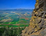 Grande Ronde Valley from cliffs of Mt. Harris in the Wallowa Mountains