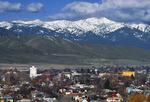 Baker City and the Elkhorn Range