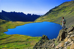 Wildhorse Lake on Steens Mountain