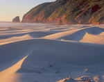 Dunes of Baker Beach on the Oregon coast