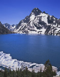 Mt. Regan from Sawtooth Lake