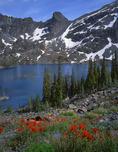 Sheep Lake in the Seven Devils Range