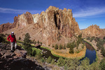 Bend of the Crooked River in Smith Rock State Park