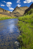 John Day River emerging from Picture Gorge