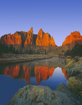 Crooked River and Asterisk Pass