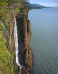 Cape Horn Falls and Columbia River