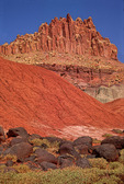The Castle of Capital Reef National Park