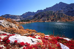 Lamoille Lake in the Ruby Mountains