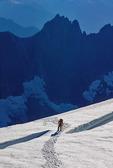 Crevasse on Glacier North Cascade National Park Washington