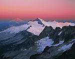Mt. Baker and Eldorado Peak at sunrise