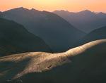 Glacier polish above North Cascade River in Boston Basin