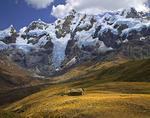 Home below Nevado Carnicero