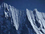 Flutings and cornices on Nevado Rondoy