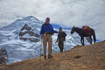 Crossing Punta Cuyoc on Cordillera Huayhuash Trek