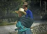 On the road to Portachuelo de Llanganuco