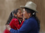 Mother and daughter in Huaraz