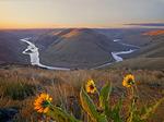 John Day River at sunrise