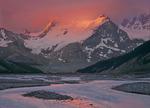 Mount Athabasca and Sunwapta River