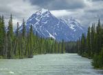 Whirlpool River in Jasper National Park