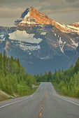 Mount Christie above Icefields Parkway
