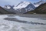 Sunwapta River and Mt Athabasca