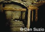 Abandoned mine shaft, Hanaupah Canyon, Death Valley National Park