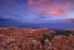 730750091 Sunset over Silent City and hoodoos; View from Sunset Point; Bryce Canyon National Park, Utah. Extensive coverage numerous North American parks and other geographic locations.