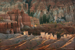 730750174 sunrise lights up the hoodoos below sunrise point in bryce canyon national park utah united states. Extensive coverage of numerous North American parks and other geographic locations.