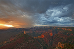 749220326 sunrise storms and heavy cloud cover over mount hayden at point imperial north rim of the grand canyon in arizona united states. Extensive coverage of numerous North American national and state parks and other geographic locations.