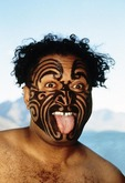 Maori greeting in New Zealand