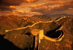 Great Wall at Jinshanling pass, northeast of Beijing in Hebei province.