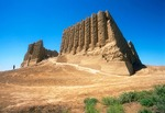 Merv (Mary) ancient ruins of Great Kyz Kala Palace on Silk Road