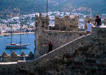 Bodrum's Castle of the Knights of St. John (aka Castle of St. Peter or the Petronion) built by the Crusaders