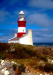 Cape Agulhas Lighthouse at southern most point of Africa