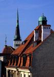 Tallinn's Old Town architecture