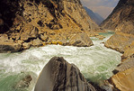 Tiger Leaping Gorge of the Jinshan (Golden Sands) River, upper Yangtze near Lijiang