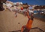 Ponza soccer on beach