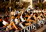 Nice promenade people watching