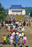 Nanjing's Sun Yatsen memorial mausoleum
