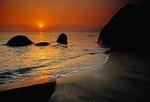 Hainan Island sunset at China's